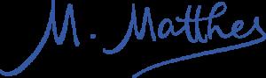 Autogramm Matthes